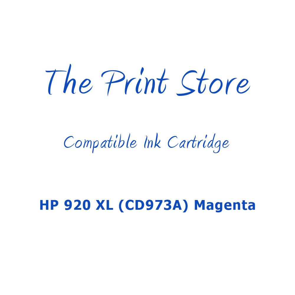 HP 920XL (CD973A) Magenta Compatible Ink Cartridge