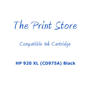 HP 920XL (CD975A) Black Compatible Ink Cartridge