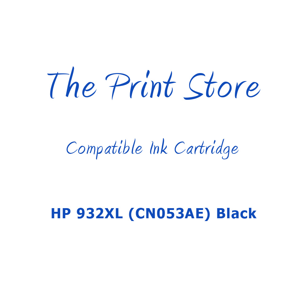 HP 932XL (CN053AE) Black Compatible Ink Cartridge