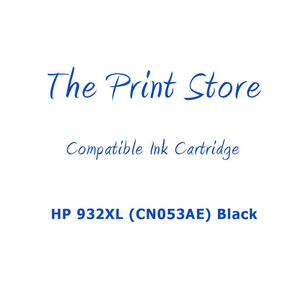 HP 932XL (CN053AE) Black Compatible Ink Cartridge