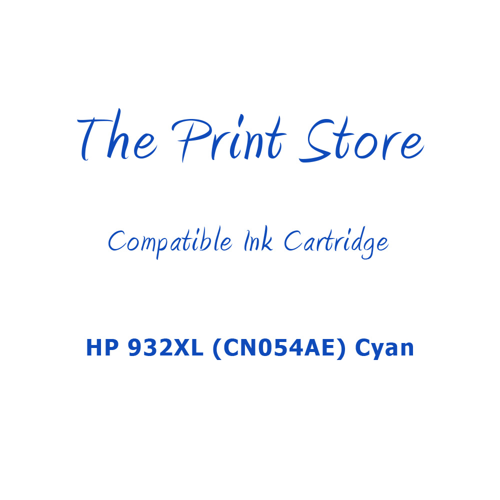 HP 933XL (CN054AE) Cyan Compatible Ink Cartridge