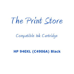HP 940XL (C4906A) Black High Capacity Compatible Ink Cartridge