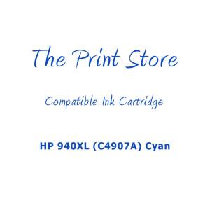 HP 940XL (C4907A) Cyan High Capacity Compatible Ink Cartridge