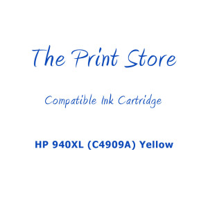 HP 940XL (C4909A) Yellow High Capacity Compatible Ink Cartridge