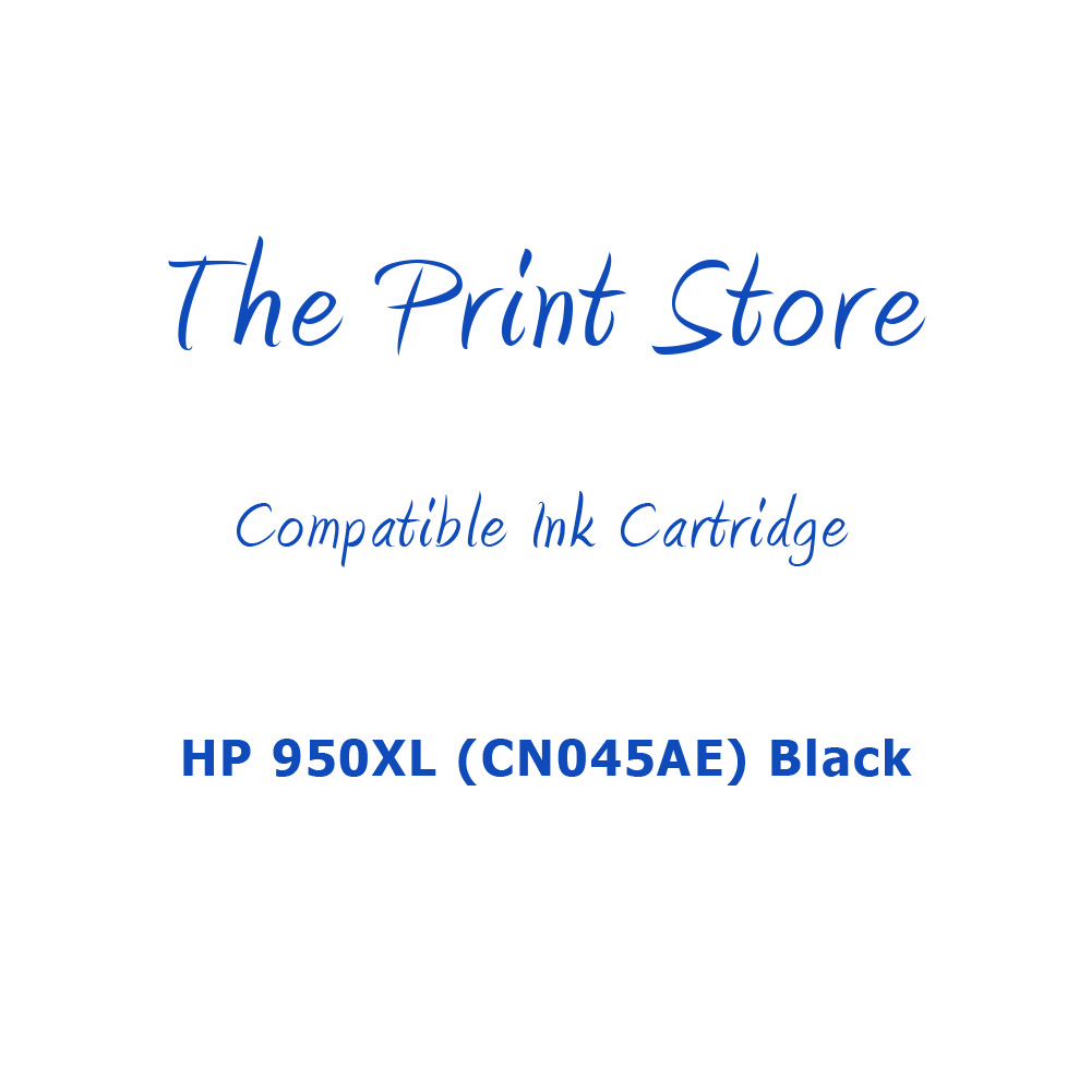 HP 950XL (CN045AE) Black Compatible Ink Cartridge