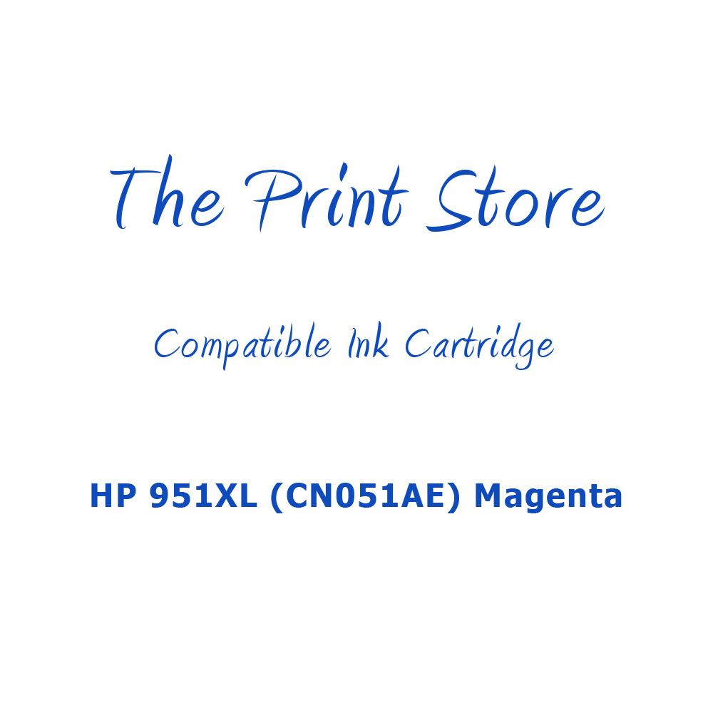 HP 951XL (CN051AE) Magenta Compatible Ink Cartridge