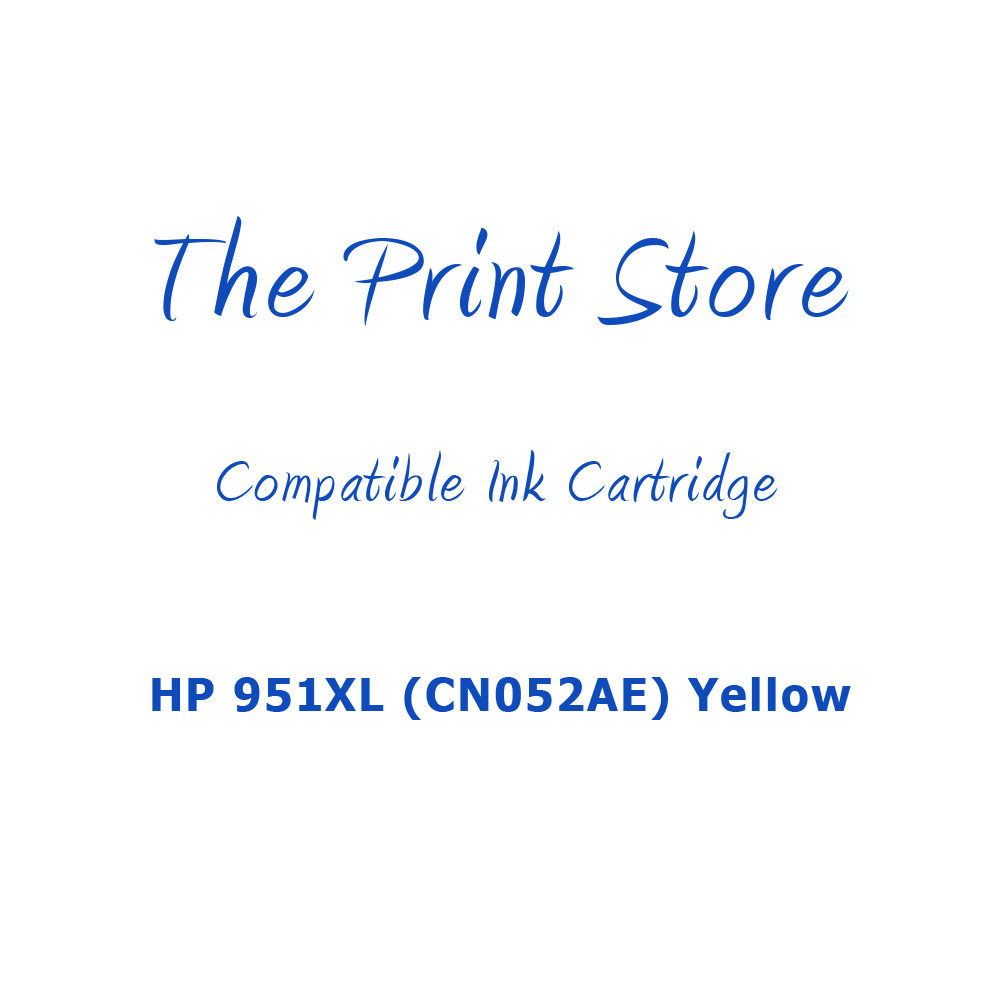 HP 951XL (CN052AE) Yellow Compatible Ink Cartridge