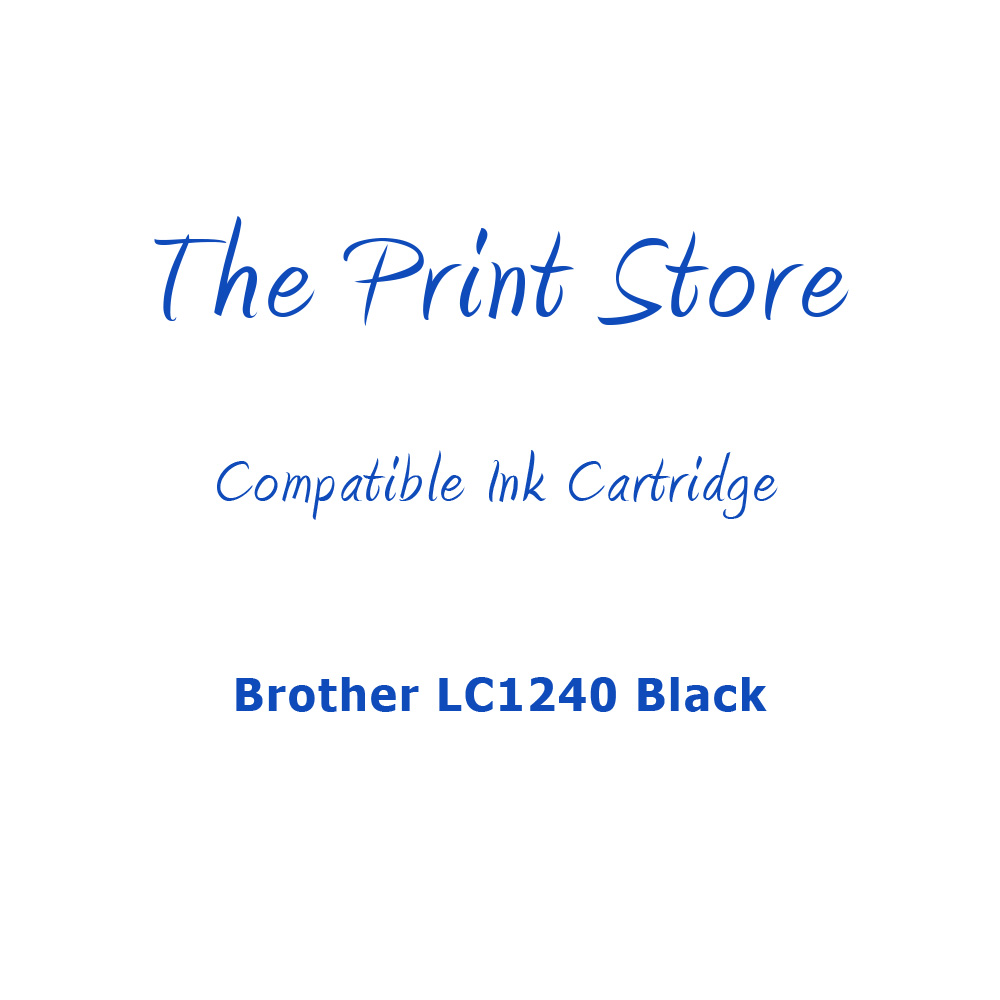 Brother LC1240 Black Compatible Ink Cartridge