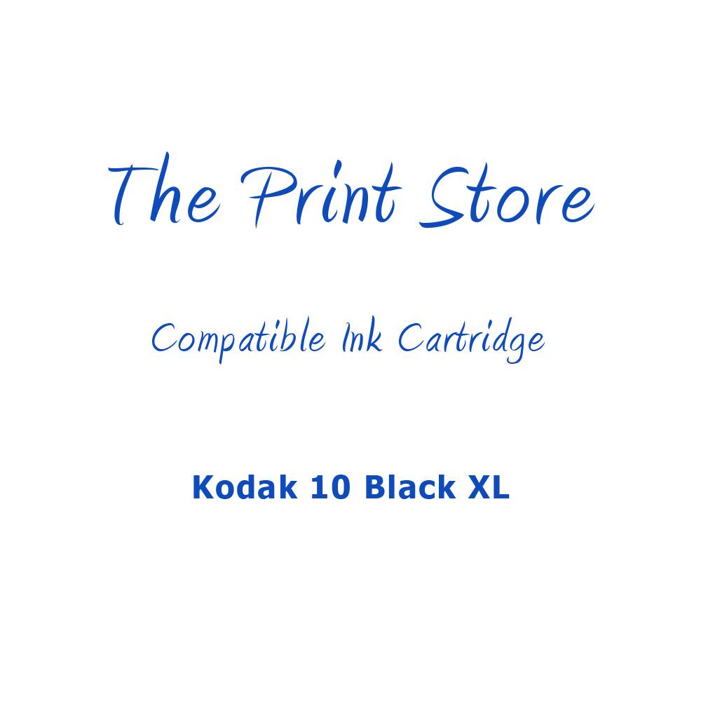 Kodak 10 Black XL Compatible Ink Cartridge