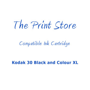 Kodak 30 Black and Colour XL Multipack of Compatible Ink Cartridges
