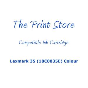 Lexmark 35XL (18C0035E) Colour Compatible Ink Cartridge