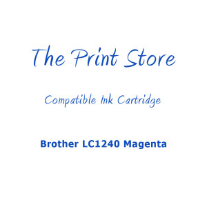 Brother LC1240 Magenta Compatible Ink Cartridge