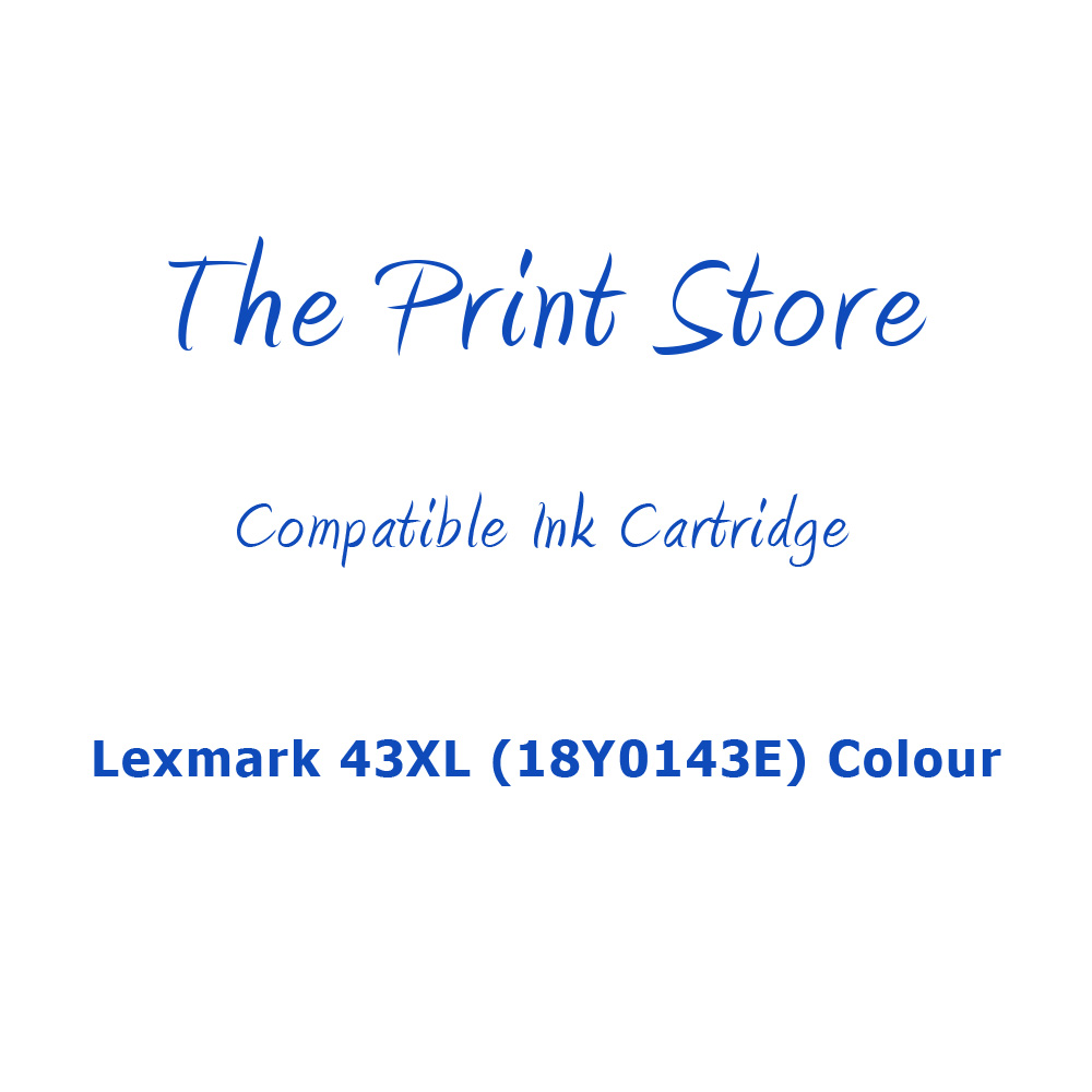 Lexmark 43XL (18Y0143E) Colour Compatible Ink Cartridge