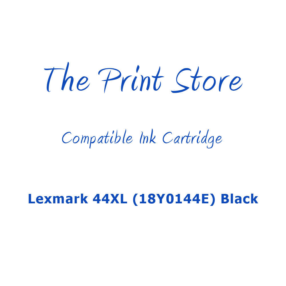 Lexmark 44XL (18Y0144E) Black Compatible Ink Cartridge