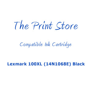 Lexmark 100XL (14N1068E) Black (Return Program) Compatible Ink Cartridge