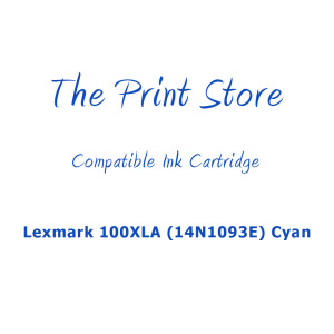 Lexmark 100XLA (14N1093E) Cyan Compatible Ink Cartridge