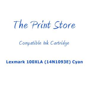 Lexmark 100XLA (14N1093E) Cyan Compatible Ink Cartridge