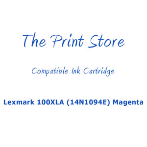 Lexmark 100XLA (14N1094E) Magenta Compatible Ink Cartridge