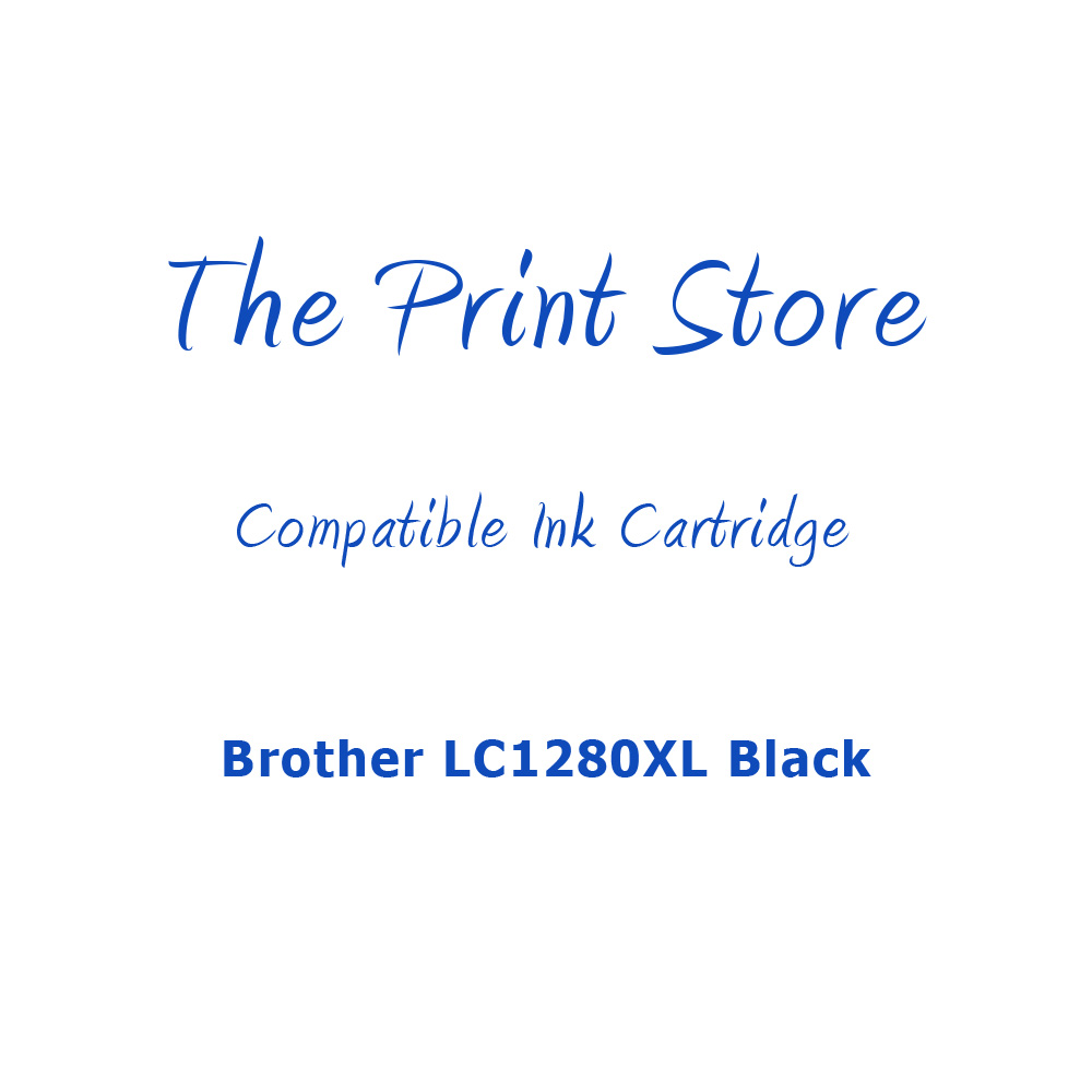 Brother LC1280XL Black Compatible Ink Cartridge
