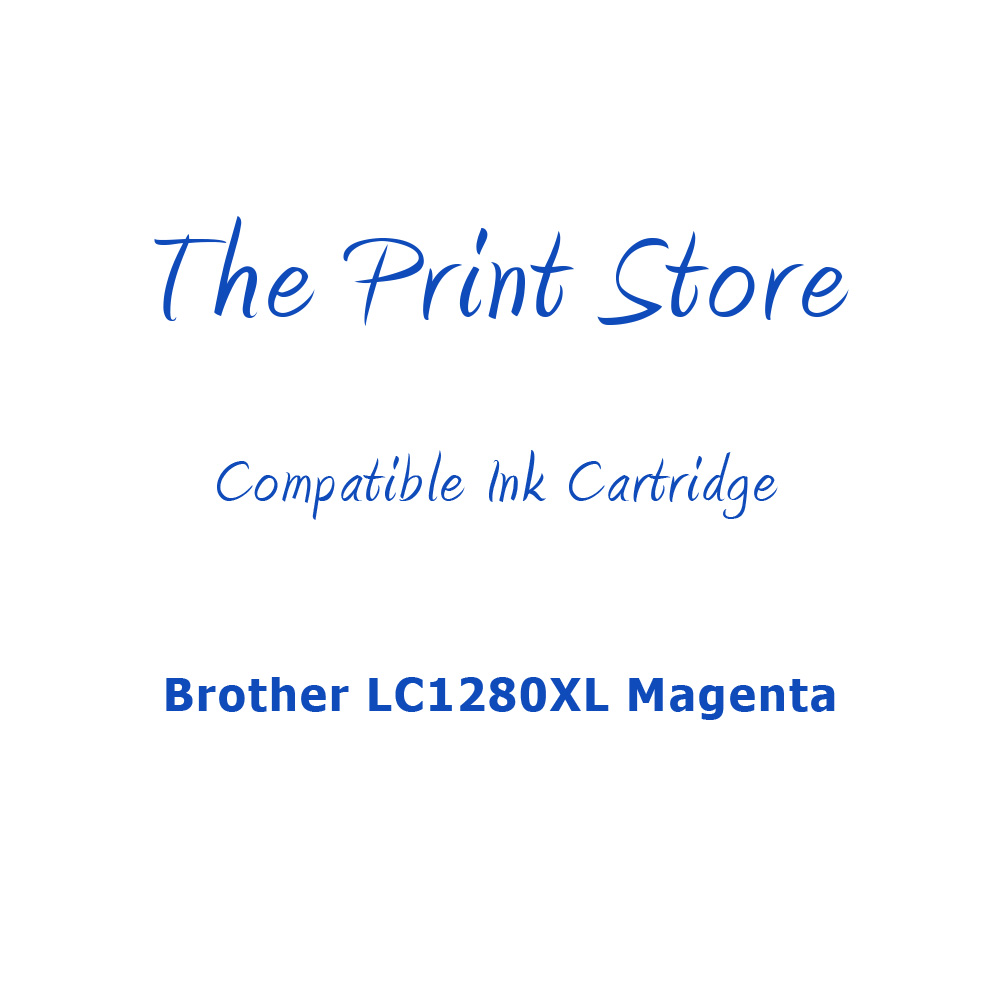Brother LC1280XL Magenta Compatible Ink Cartridge