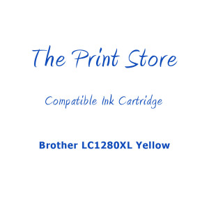 Brother LC1280XL Yellow Compatible Ink Cartridge