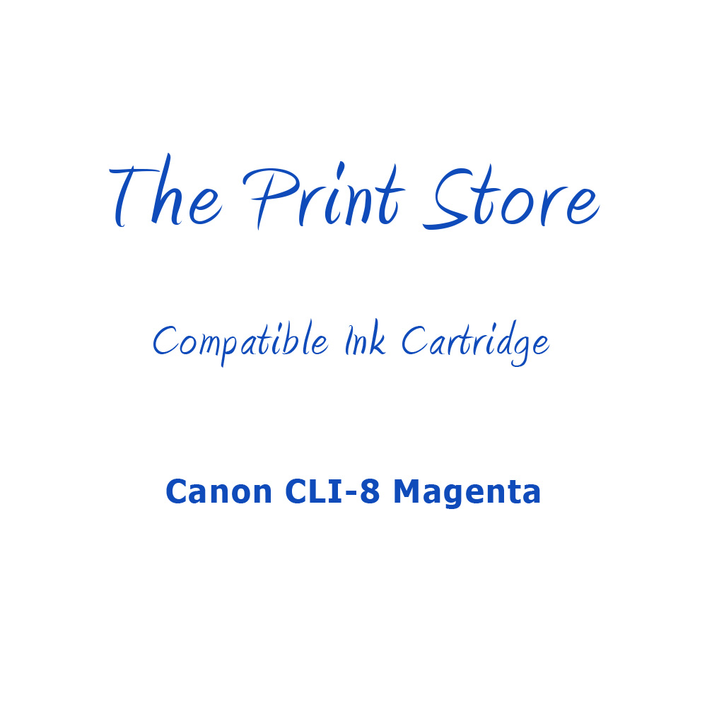 Canon CLI-8 Magenta Compatible Ink Cartridge