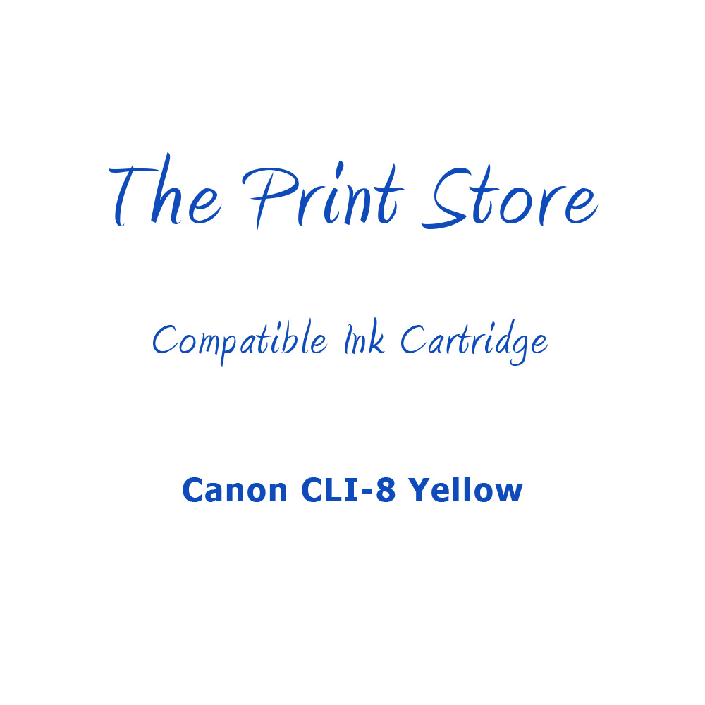 Canon CLI-8 Yellow Compatible Ink Cartridge