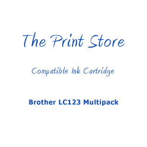 Brother LC123 Multipack Compatible Ink Cartridges