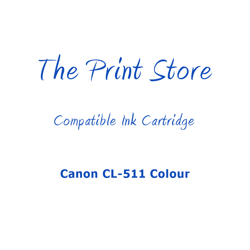 Canon CL-511/CL-513 Colour Compatible Ink Cartridge