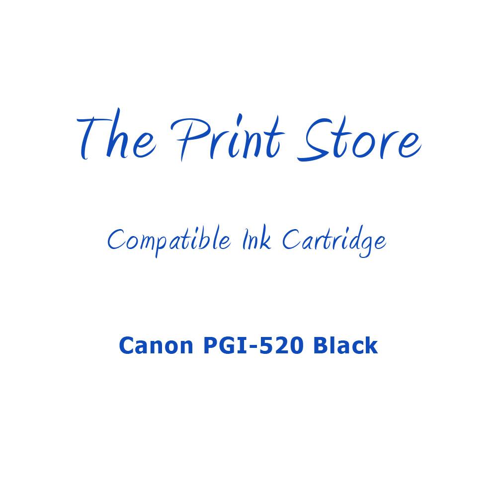Canon PGI-520 Black Compatible Ink Cartridge