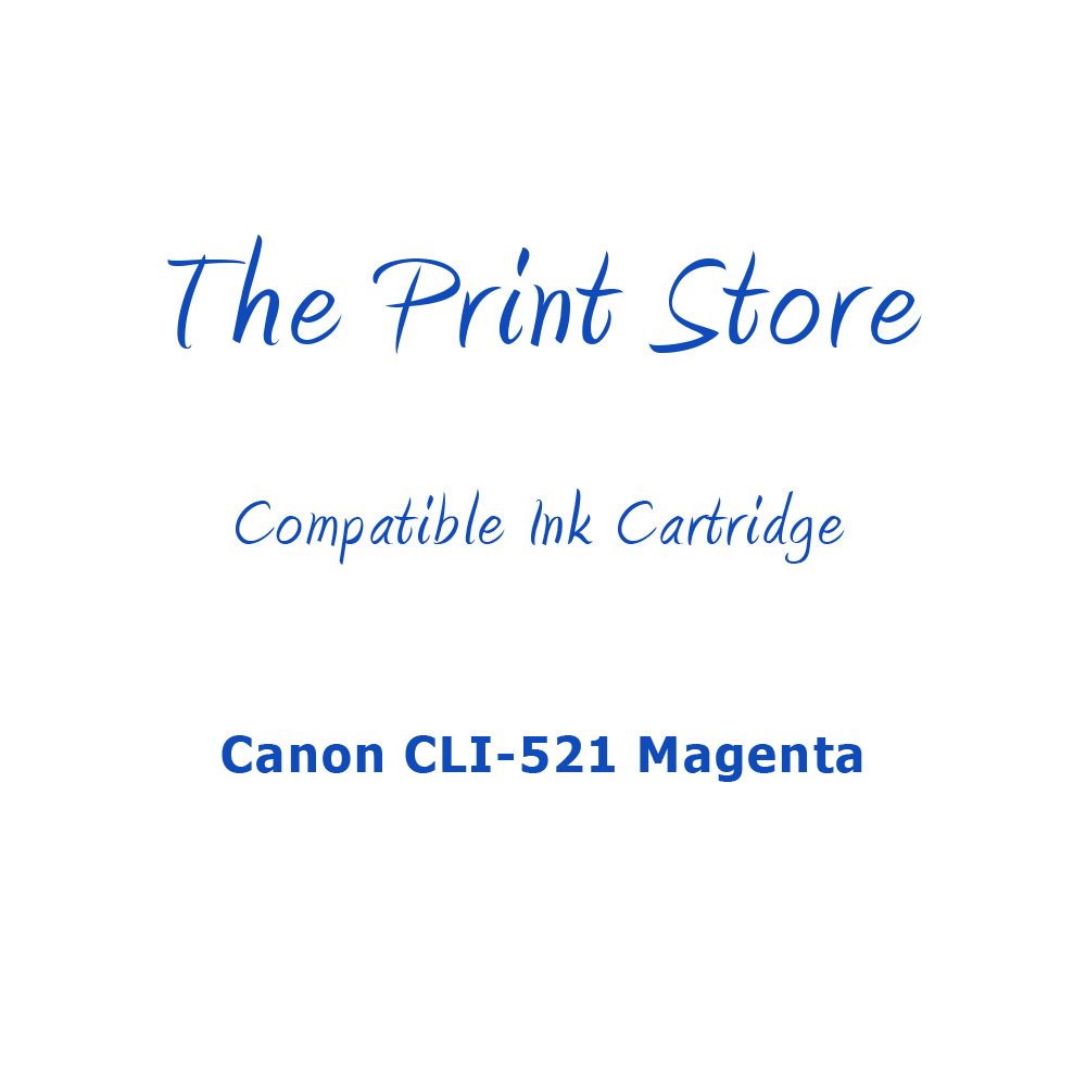 Canon CLI-521 Magenta Compatible Ink Cartridge