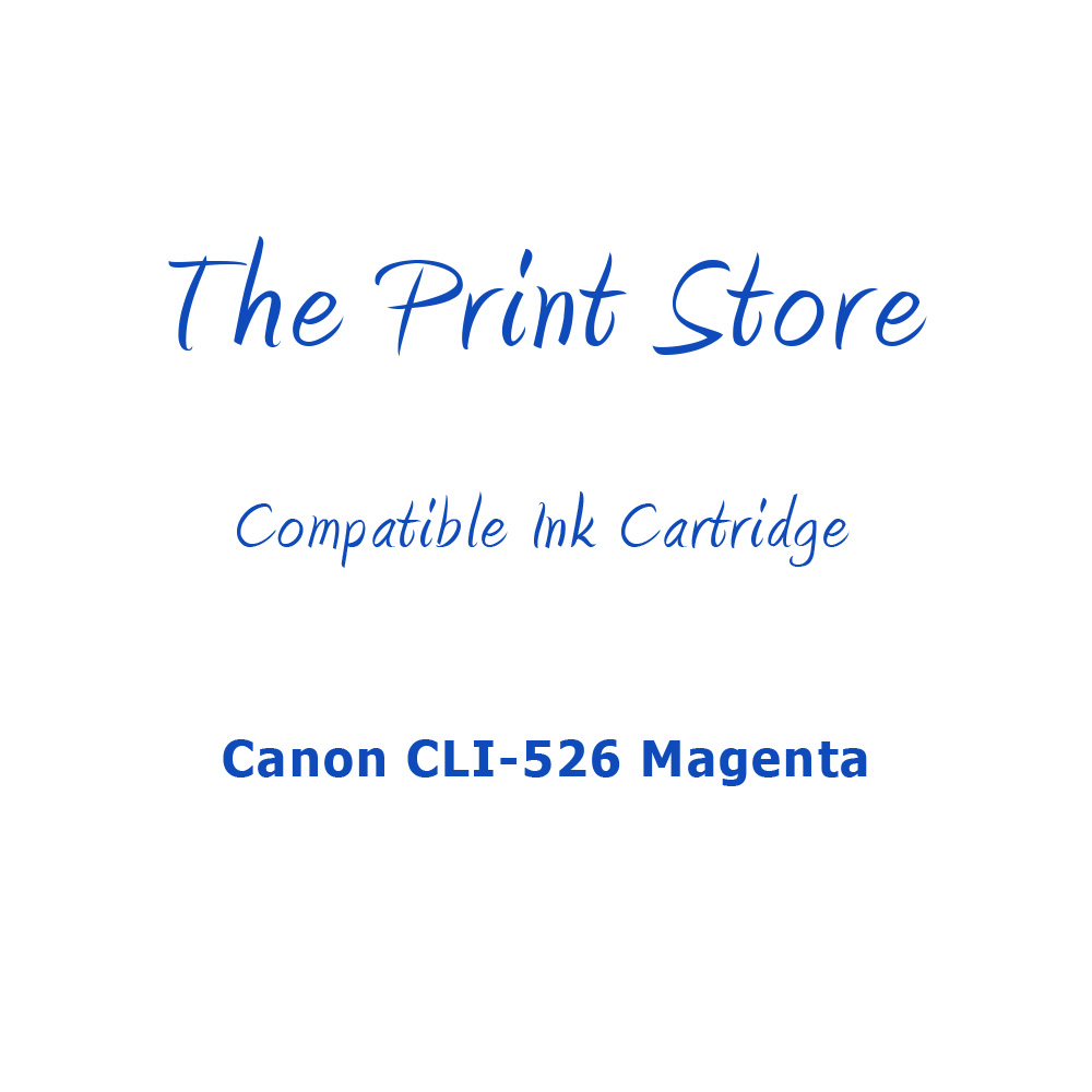 Canon CLI-526 Magenta Compatible Ink Cartridge